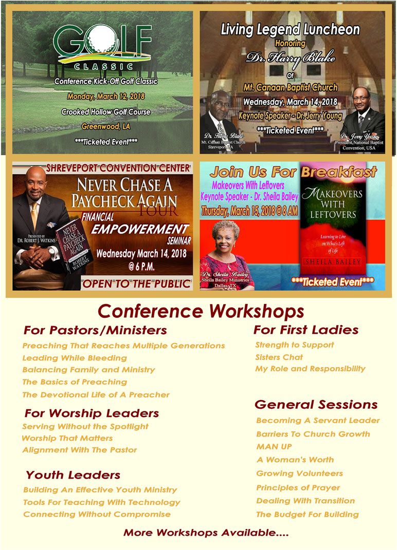 Equipping the Saints Workshops and Events